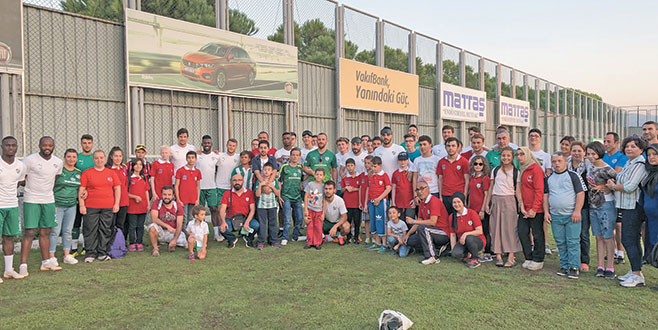 Bursaspor'un özel konukları