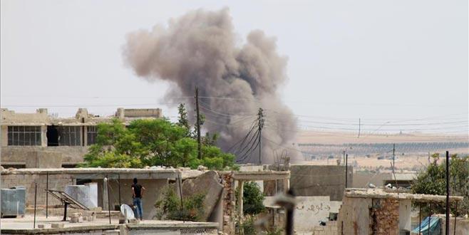 Rus ve Suriye jetleri İdlib'i vuruyor