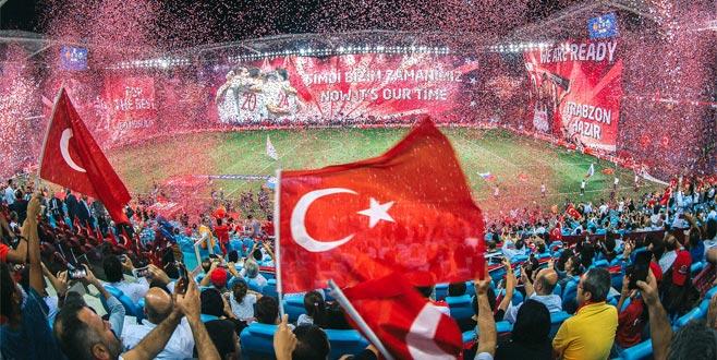 TFF Trabzon'a teşekkür etti
