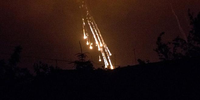 ABD Suriye'yi fosfor bombalarıyla vurdu