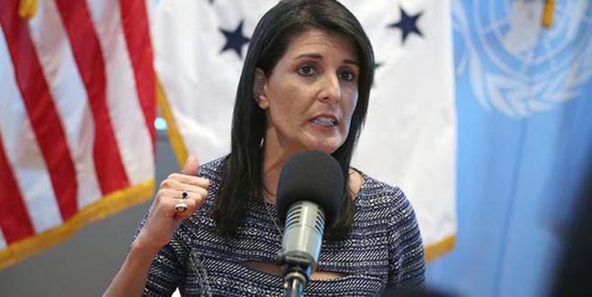 Haley: Türkiye ateşkes istedi, Rusya ve İran kabul etmedi