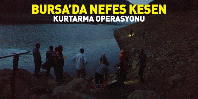 Bursa'da nefes kesen kurtarma operasyonu