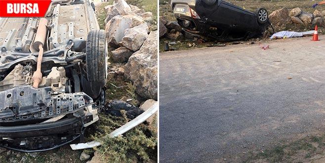 Emanet aldığı araç sonu oldu: 1 ölü, 1 yaralı