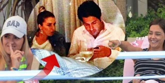 Rıza Sarraf'ın yanındaki kadının kimliği ortaya çıktı