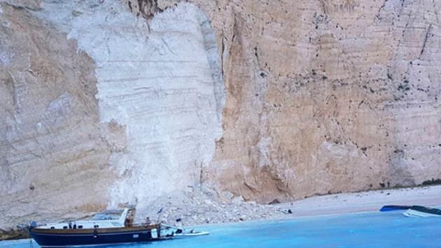 Tatil cennetinde facia! Dünyaca ünlü plaj çöktü