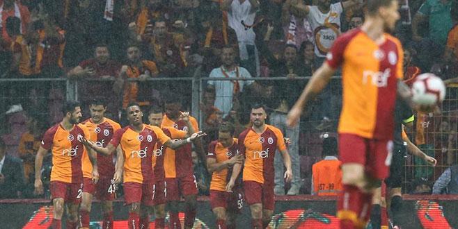 Galatasaray üç puanı ikinci yarıda aldı
