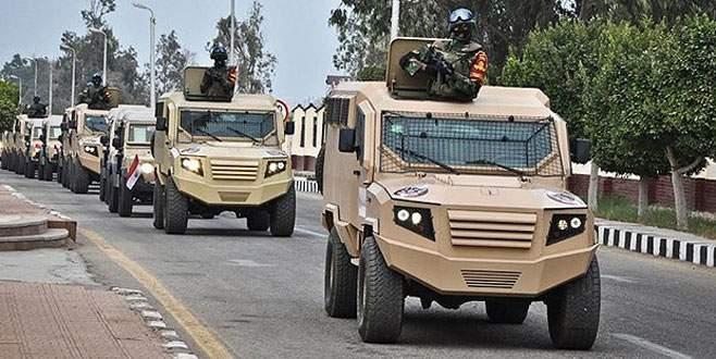 Mısır ordusu Sina'da operasyon düzenledi