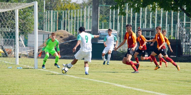 U16 Timsah'tan Aslan'a tek kurşun: 1-0