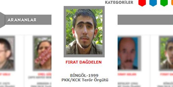 300 bin lira ödülle aranan terörist öldürüldü