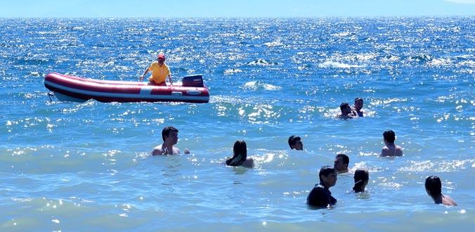 Cankurtaranlar 181 kişiyi boğulmaktan kurtardı