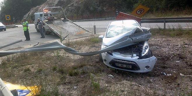 AK Partili Vekilin babası Bursa'da kaza yaptı