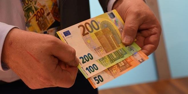 Yeni 100 ve 200 Euro'lar tanıtıldı