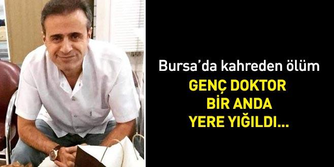 Bursa'da kahreden ölüm! Genç doktor kalbine yenildi...