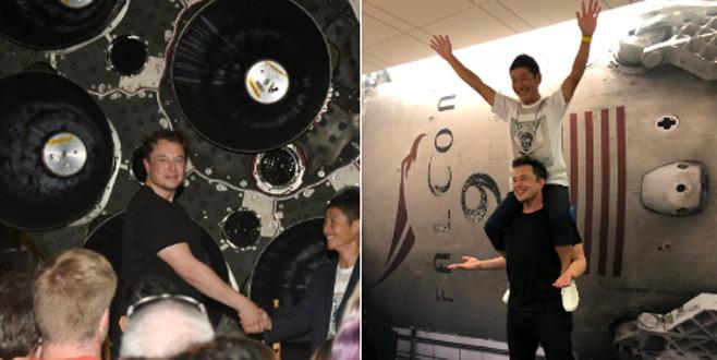 Elon Musk'ın uzaya göndereceği ilk turistin kimliği belli oldu