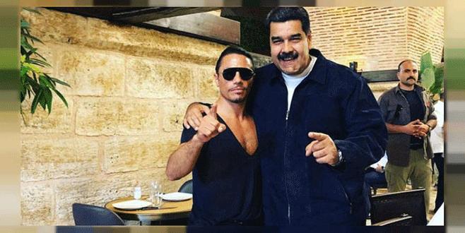 Maduro'nun Nusret'te et yemesi isyan ettirdi