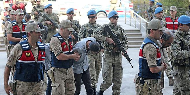 2 askeri şehit etmişlerdi... 9 terörist tutuklandı