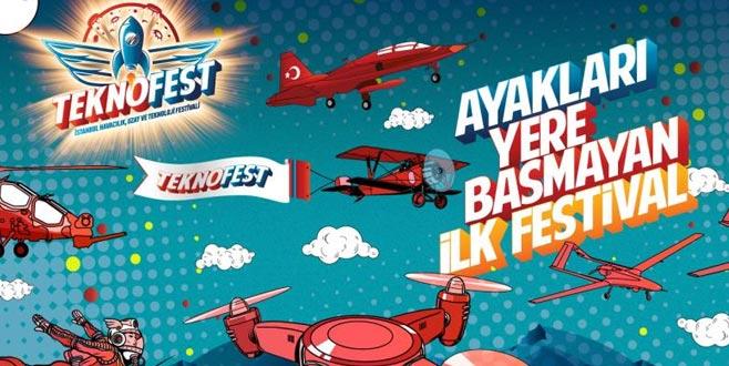 Ayakları yerden kesecek festival TEKNOFEST geliyor