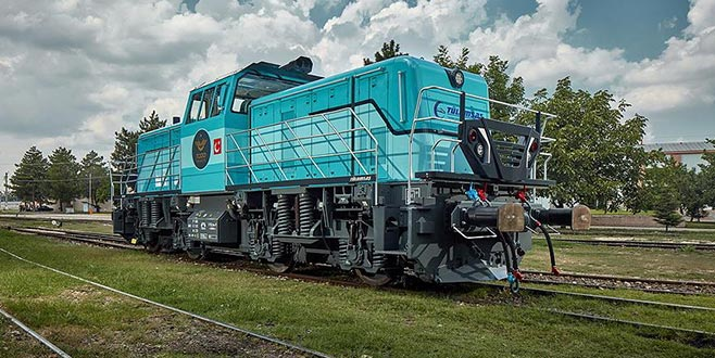 Milli hibrit lokomotif Almanya'da