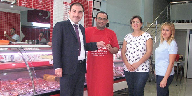 Kestel'de örnek gıda işletmelerine altın ödülü