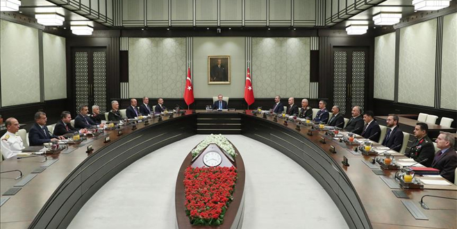 Beştepe'de kritik toplantı