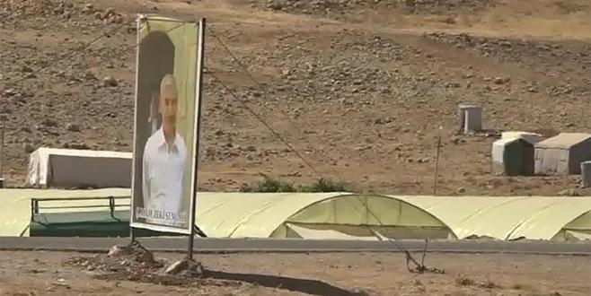 PKK'ya bağlı YBŞ'li teröristler görüntülendi
