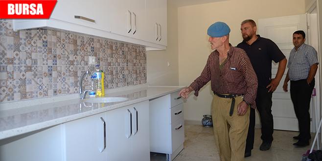 Kıbrıs gazisinin ev mutluluğu