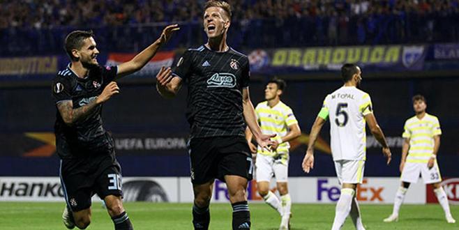 Fenerbahçe, Zagreb'de ağır yaralı! 4-1...