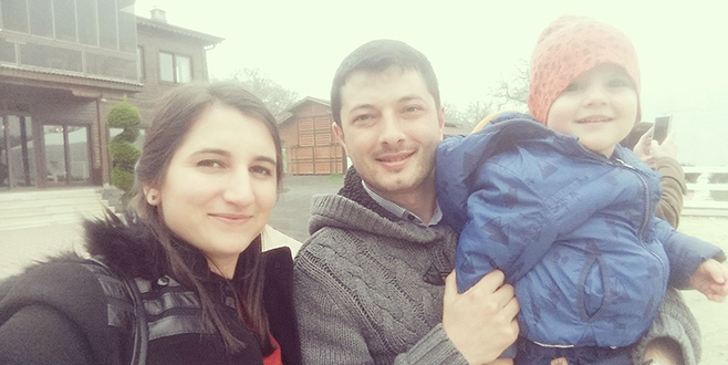 Bursalı öğretmen çifti ayıran kaza