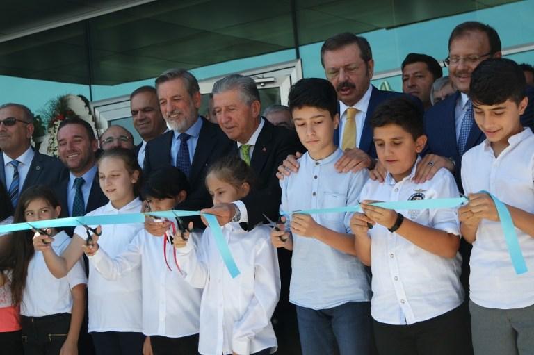 Bursa'da okul ve cami açılışı