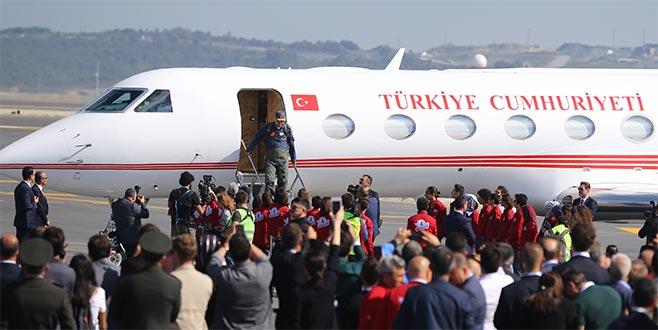 Cumhurbaşkanı Erdoğan, TEKNOFEST alanında