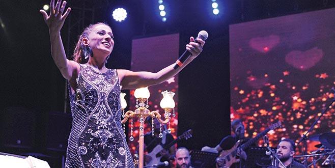 Bursa'da yıldızlı gece