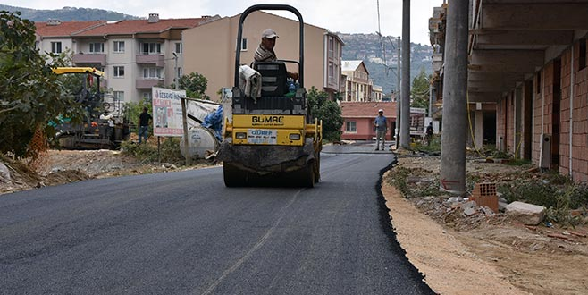 Gemlik'te asfaltsız yol kalmayacak