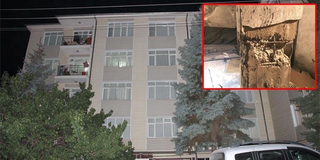 2 binada yıkılma paniği: Kolonlar çatladı, 150 kişi tahliye edildi