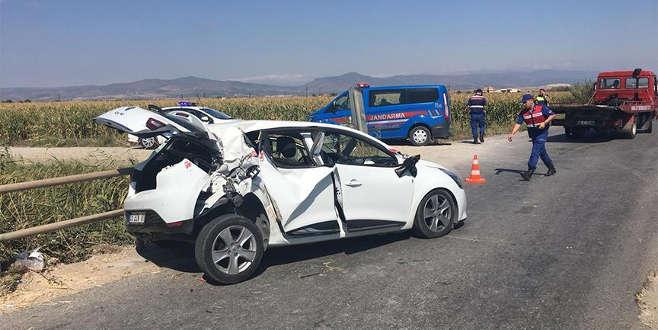 Bakan'ın annesi ve dayısı trafik kazası geçirdi