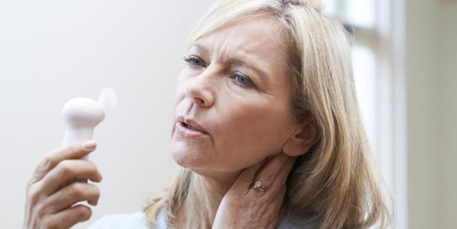 Menopoz döneminde kemik erimesi
