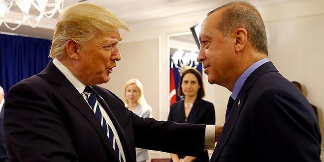 Erdoğan, BM Genel Kurulunda Trump ile görüştü