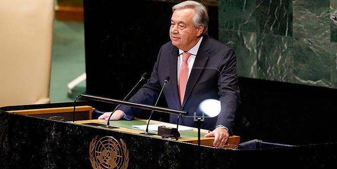 Guterres'ten dünya liderlerine iş birliği çağrısı