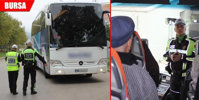 Otobüsler durduruldu... Yolcular tek tek uyarıldı