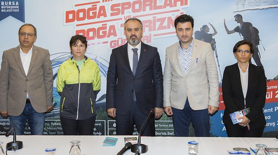 Bursa'da doğa sporları heyecanı başlıyor