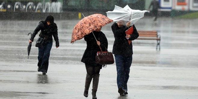 Bursalılar dikkat! Fırtına geliyor