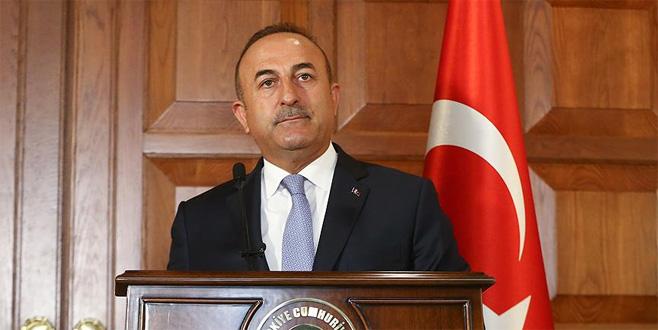 Bakan Çavuşoğlu'ndan İsrail'e sert tepki