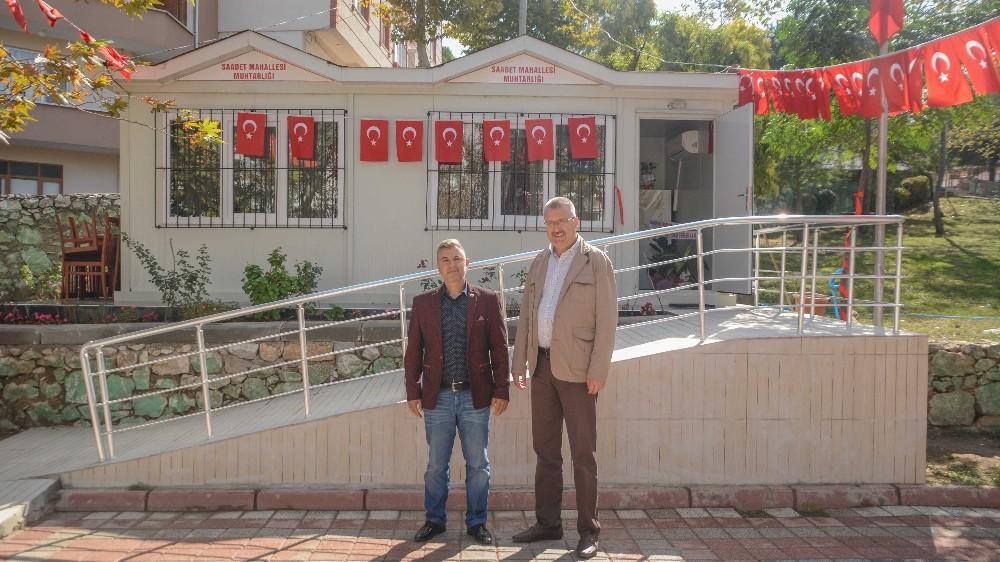 Saadet Mahallesi'ne yeni muhtarlık binası