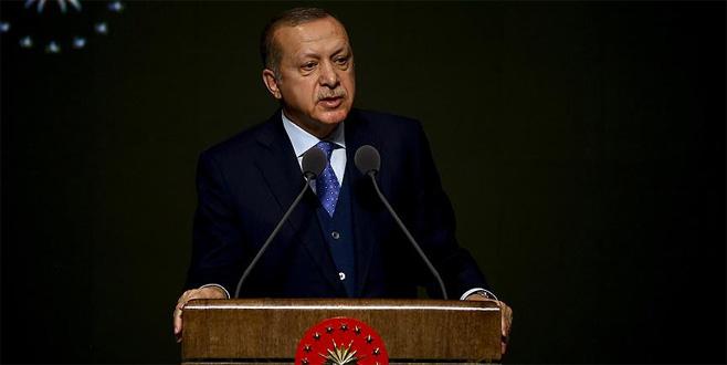Erdoğan: FETÖ, çarpık sistemin neden olduğu bir hastalıktır