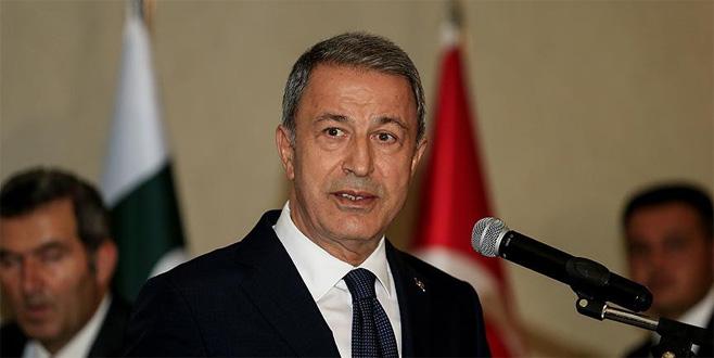 Akar: Türkiye'ye rağmen atılacak adımlara müsaade edilmeyecek
