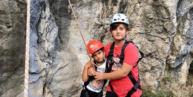 Geleceğin dağcıları İznik'te eğitim aldı
