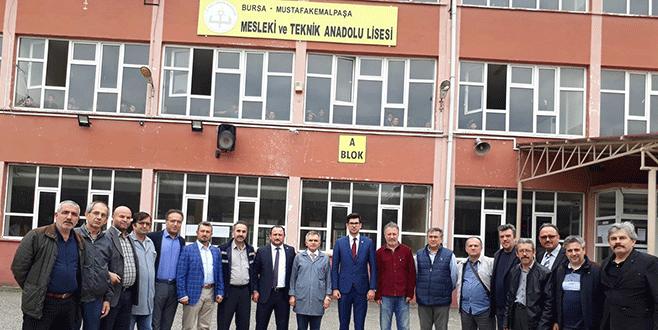Bursa'da Öğretmene veli dayağı