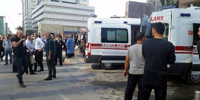 İzmir Adliyesi'nde gaz sızıntısı