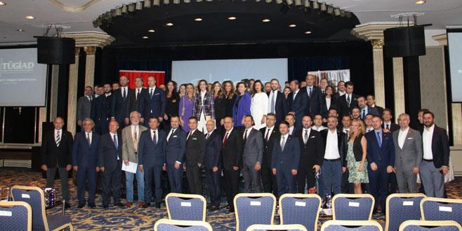 TÜGİAD Bursa'ya yeni başkan