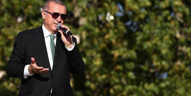 Erdoğan'dan Münbiç mesajı: Oraya da girilecek