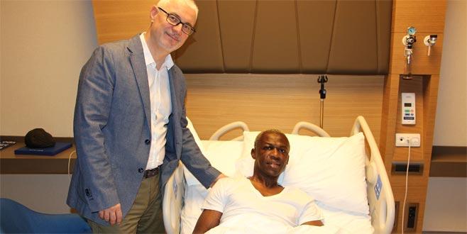 Sivassporlu Kone ameliyat edildi